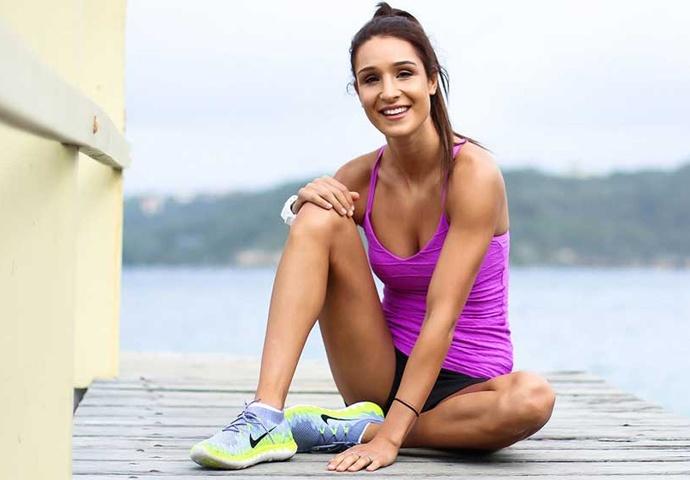 Kayla Itsines, une des blogeuses fitness les plus en vogue !