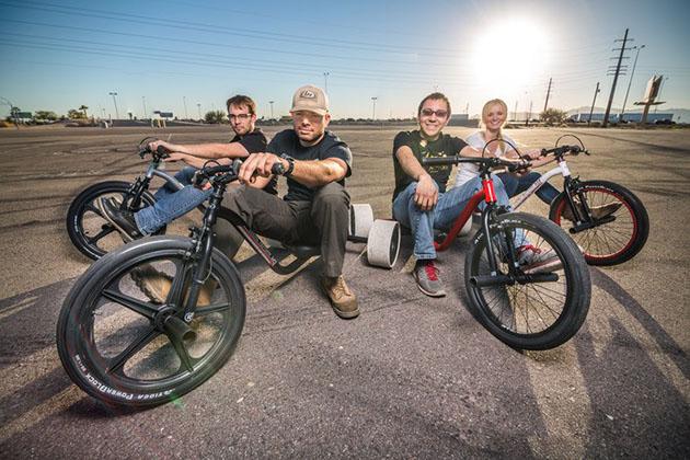 Drift Trike : un sport extrême très en vogue