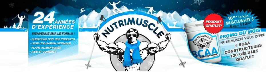 Nutrimuscle, complements alimentaires sains et biologiques pour les sportifs !