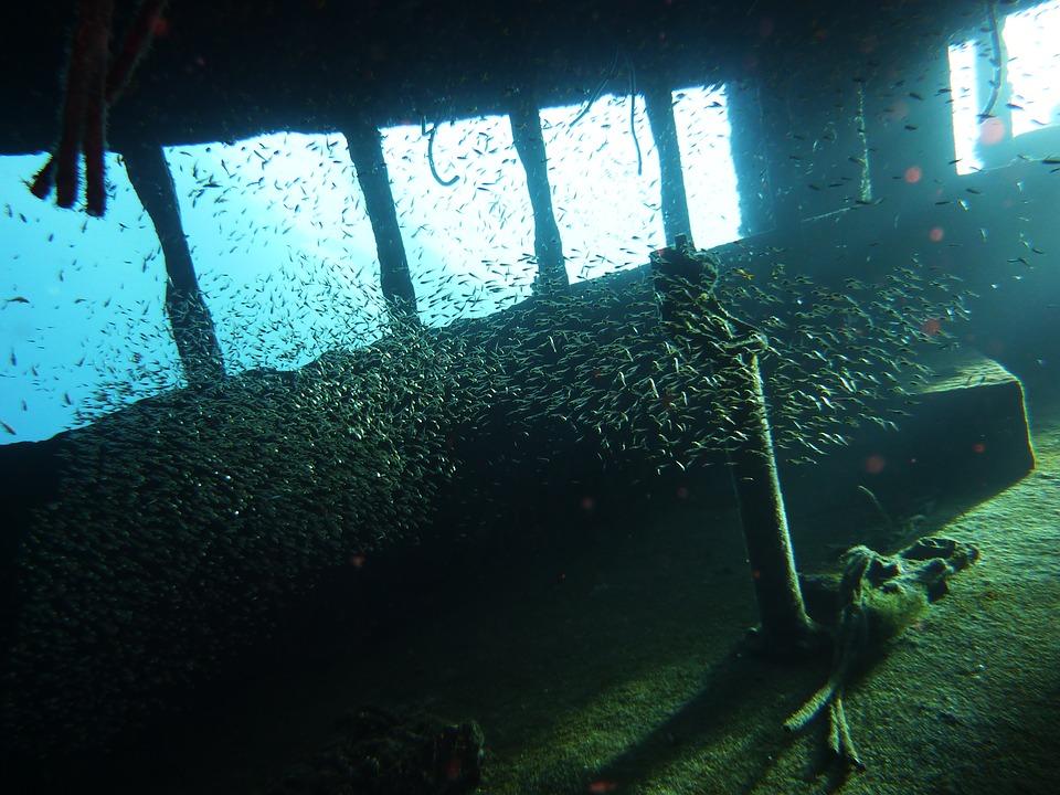 épave plongée sous-marine
