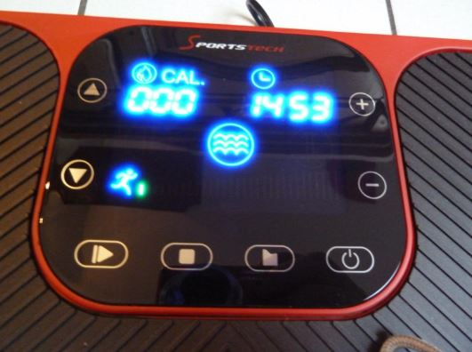Plateforme vibrante oscillante Sportstech VP400