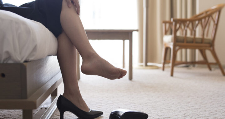 Comment éviter les problèmes de pied au travail ?